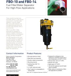 fuel filter heater water seperator 91 7 3 [ 791 x 1024 Pixel ]
