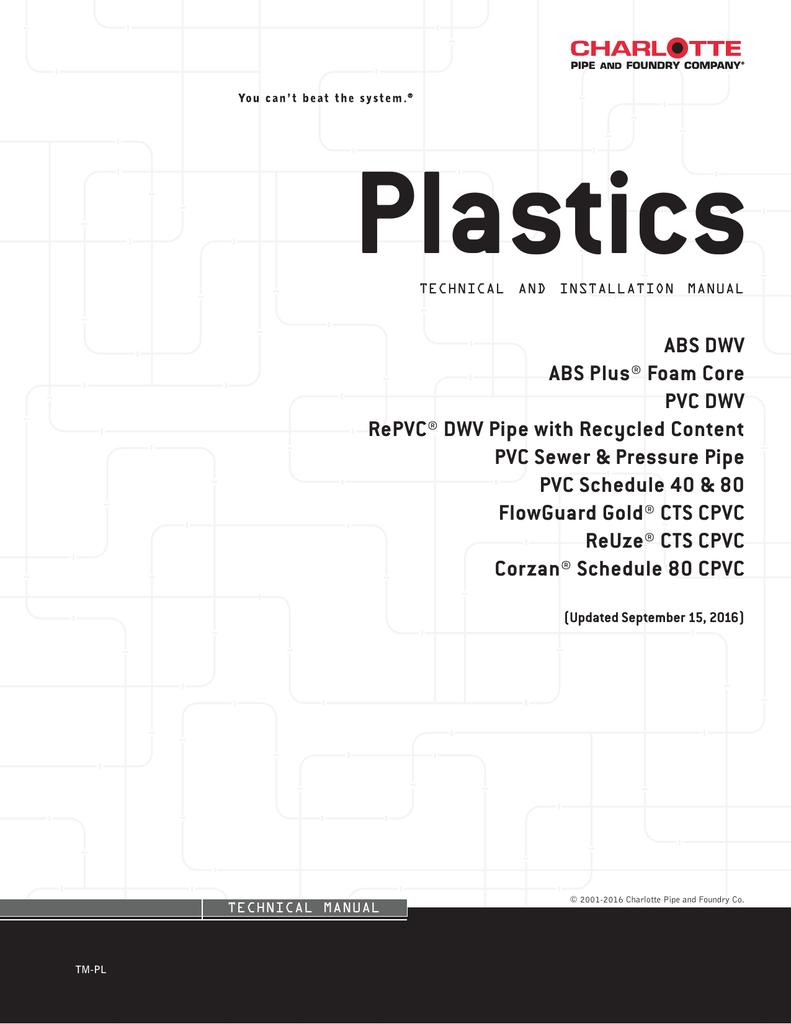 Plastics Technical Manual