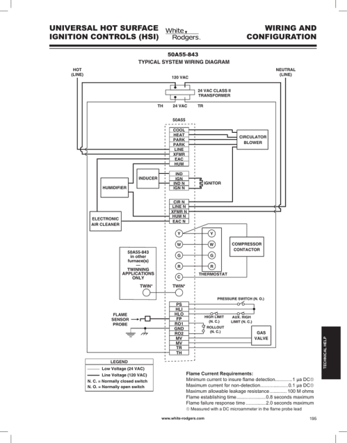 small resolution of universal furnace ignition kit wiring diagram