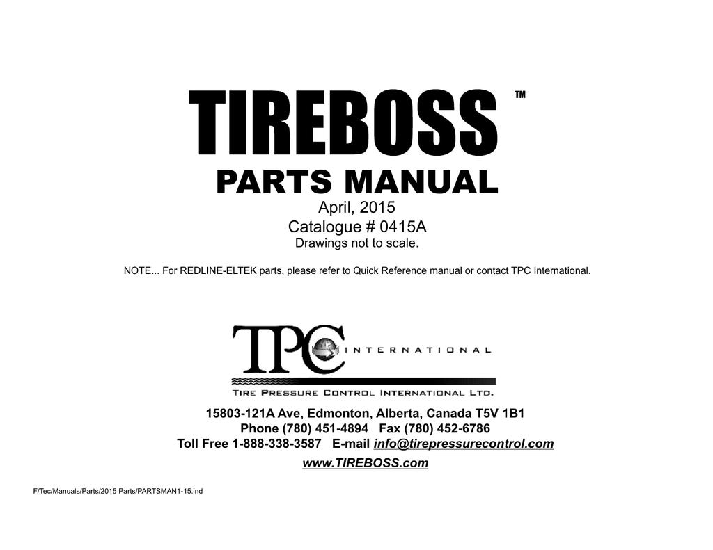 T Maxx 25 Parts Manual