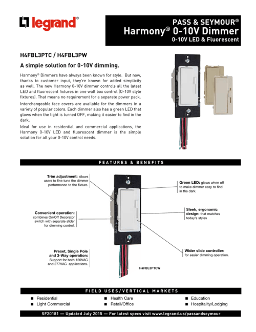 small resolution of harmony 0 10v dimmer lutron maestro wiring diagram