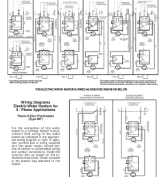 red and white water heater wiring diagram [ 791 x 1024 Pixel ]