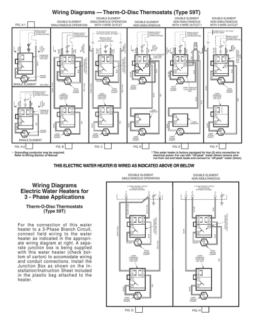 small resolution of red and white water heater wiring diagram