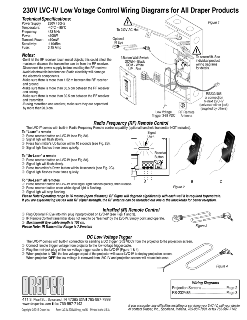 small resolution of low voltage controls wiring instructions 230v 110 plug wiring diagram