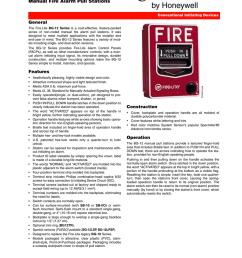 honeywell fire alarm pull station [ 791 x 1024 Pixel ]