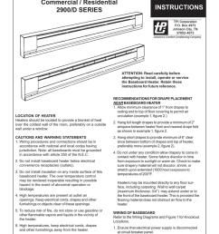 tpi baseboard heater installation instructions tpi wiring diagram baseboard [ 791 x 1024 Pixel ]