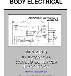 mazda electrical wiring diagram workbook [ 791 x 1024 Pixel ]