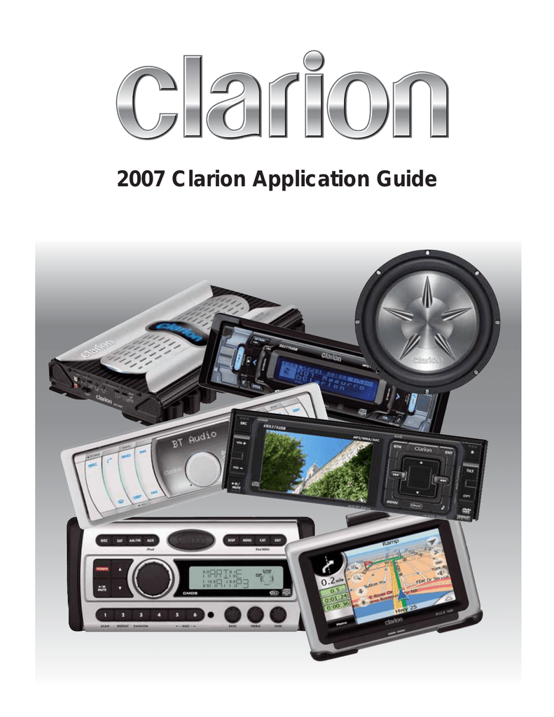 medium resolution of clarion corporation of america dealer tech hotline 800 733 3336 clarion canada inc dealer tech hotline 905 829 4600 800 668 5612 online wiring