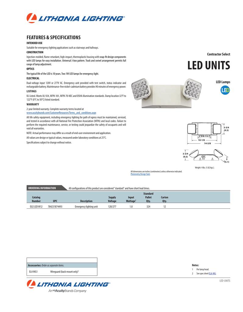 medium resolution of lithonia lighting eu2 led wiring diagram wiring librarylithonia eu2 led m12 emergency led light
