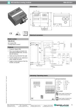 AS-Interface Z Plug