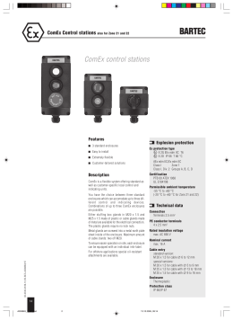 ComEx control stations