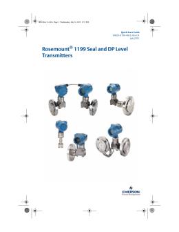 Rosemount 1199 Seal Systems Manual
