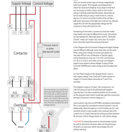 contactor overload maintained switch wiring for magnetic motor contactor wiring diagram a1 a2 [ 791 x 1024 Pixel ]