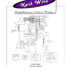 page kwik wire instruction manual 888 994 9913 www kwikwire com page page 2 table of contents 3 parts list 4 pre installation guide 5  [ 791 x 1024 Pixel ]