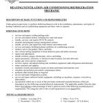 Heating Ventilation Air Conditioning Refrigeration Mechanic