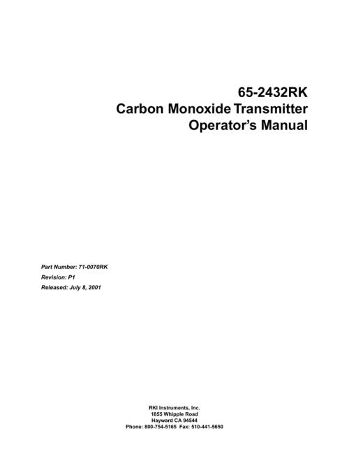 small resolution of 65 2432rk rki instruments pmi wiring diagram rki wiring diagram