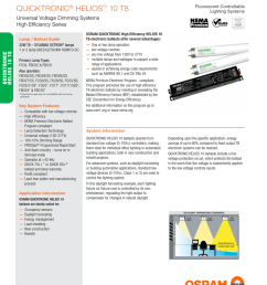 www osram americas com quicktronic quicktronic helios 10 t8 fluorescent controllable lighting systems lamp ballast guide 32w t8 sylvania octron lamps  [ 791 x 1024 Pixel ]
