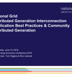distributed generation interconnection application best practices and diagram source national grid wwwnationalgriduscom niagaramohawk [ 1024 x 768 Pixel ]
