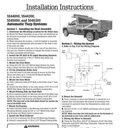 wiring diagram for tarp motor 5543095 [ 791 x 1024 Pixel ]