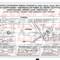Model A Horn Wiring Diagram Bargman Breakaway Switch Beedspeed Conversion For Rally Sprint