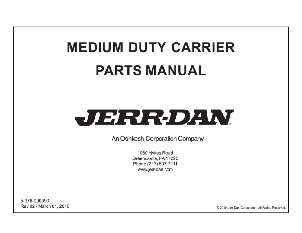 medium resolution of jerr dan wiring diagram