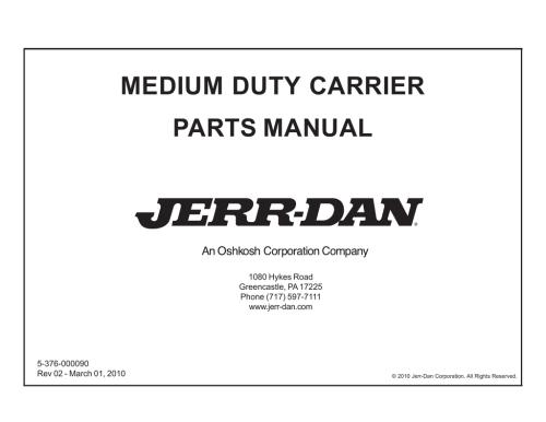 small resolution of jerr dan wiring diagram