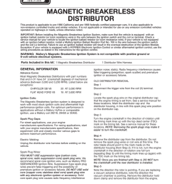 malloy ignition systems installation instructions mix mallory high fire wiring diagram 18 [ 791 x 1024 Pixel ]