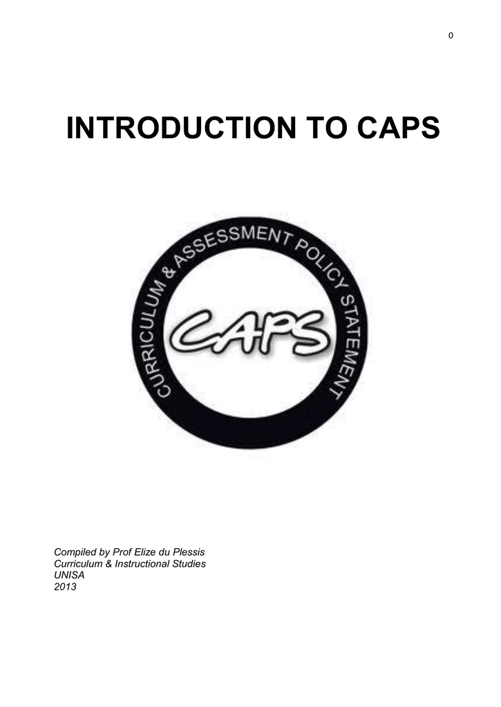 introduction to caps