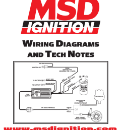 wiring diagrams and tech notes msd wiring describitons [ 770 x 1024 Pixel ]
