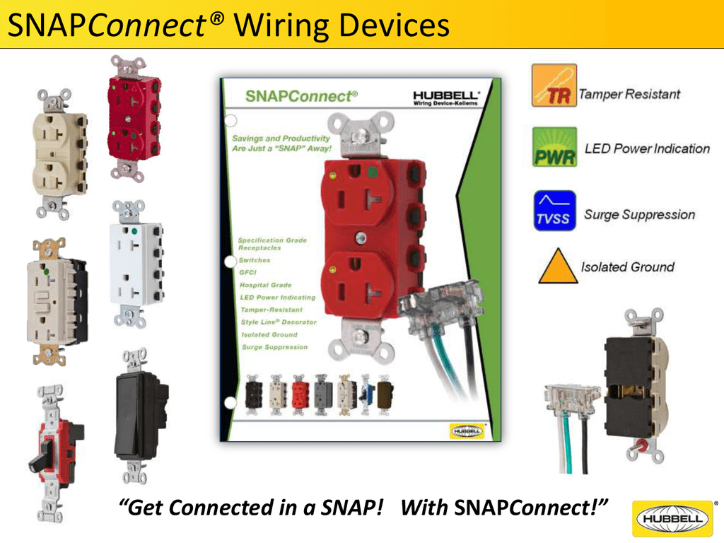hight resolution of snapconnect wiring devices expanded offering gfci and switches fed spec ul and csa listed gfci and receptacles tamper resistant isolated ground