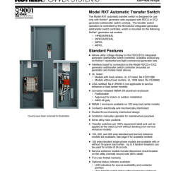 Asco 300 Wiring Diagram System Use Case Kohler Rxt Transfer Switch : 41 Images - Diagrams ...