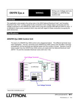 lutron grafik eye 4000 wiring diagram yamaha g1 gas golf cart graffix 3000 seriesgraffix 12