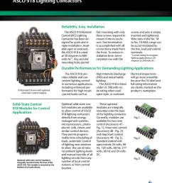 asco 918 lighting contactors commercial control system [ 791 x 1024 Pixel ]