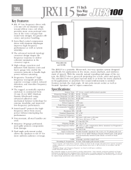 MPro MP255S Spec Sheet