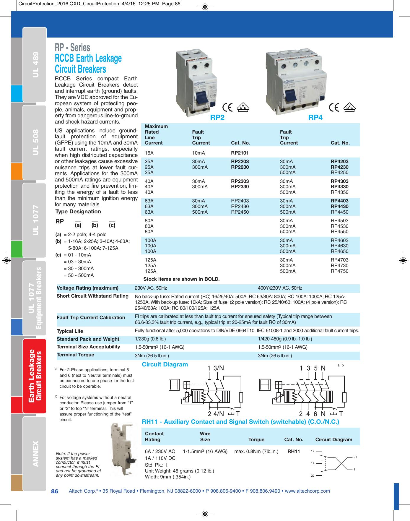 hight resolution of earth leakage circuit breaker wiring diagram
