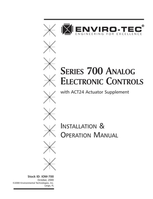 small resolution of series 700 analog electronic controls enviro tecenviro tech fan coil unit wiring diagram 14