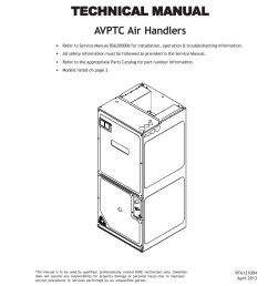 goodman air handler part diagram [ 791 x 1024 Pixel ]
