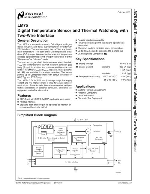 small resolution of digital temperature sensor wiring diagram