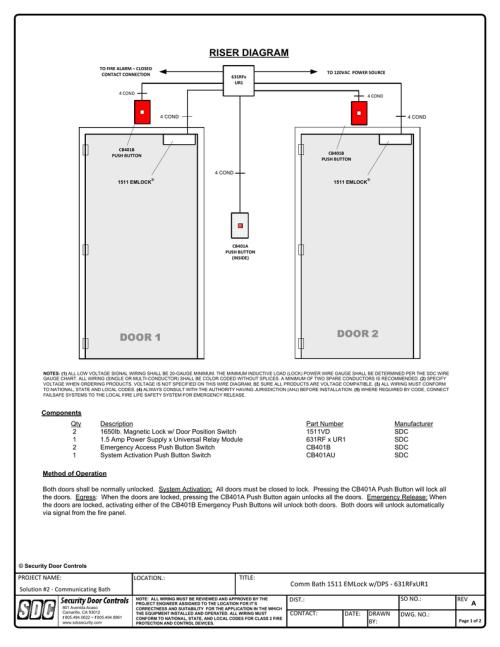 small resolution of riser diagram security door controls rh studylib net fire system riser fire alarm system wiring diagram
