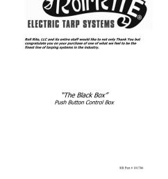 electric tarp switch wiring diagram [ 791 x 1024 Pixel ]