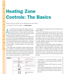 premiere wiring 101 heating zone controls the basics proper wiring is critical to the effectiveness and safety of a hydronic control system  [ 791 x 1024 Pixel ]