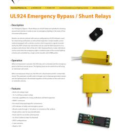 ul924 emergency bypass shunt relaysfunctional devices inc u2022 p 800 888 5538 u2022 [ 791 x 1024 Pixel ]