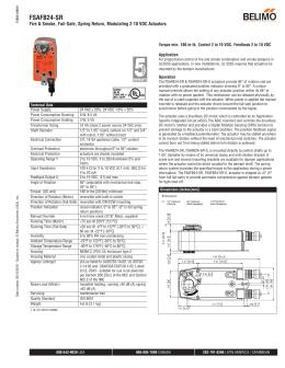 AHKX24-MFT-100, Proportional Control, Fail-Safe