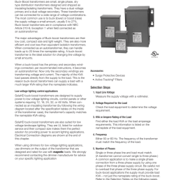 7 buck boost transformers buck boost transformers are small single phase dry type distribution transformers designed and shipped as insulating isolating  [ 791 x 1024 Pixel ]