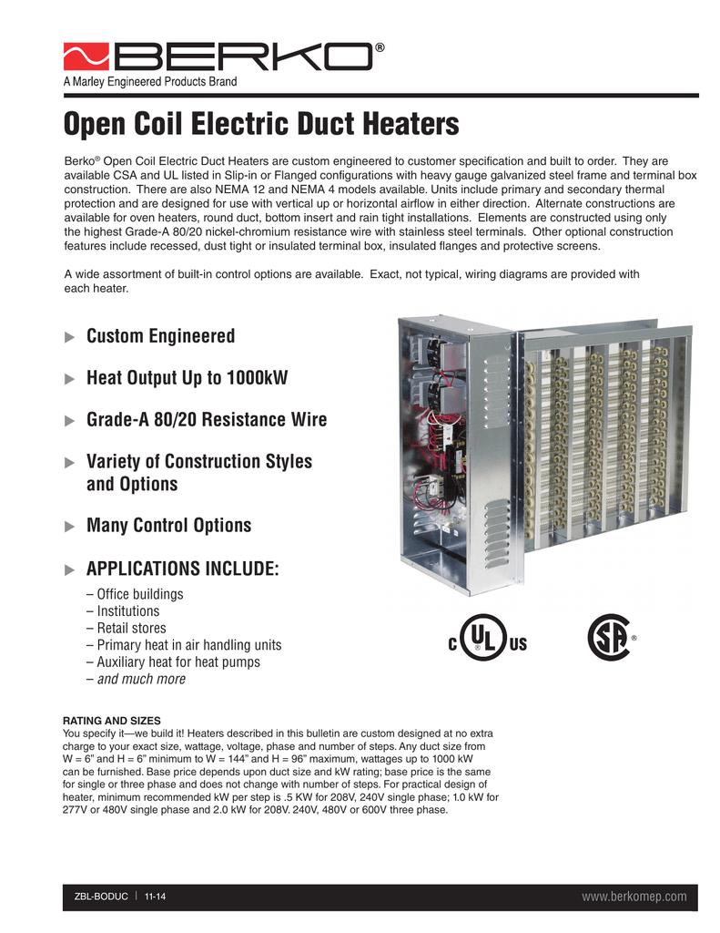 medium resolution of marley electric heater wiring diagram