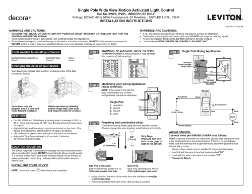 small resolution of leviton occupancy light switch wiring diagram