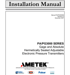 installation manual ametek power instruments rh studylib net mopar ignition modules ford ignition module schematic [ 791 x 1024 Pixel ]