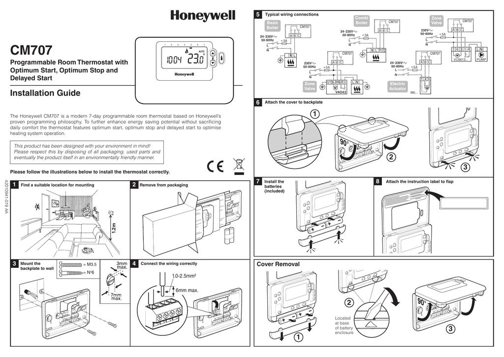 CM707 Installation Guide