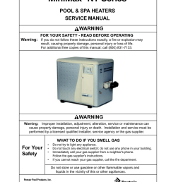 pentair pool heater wiring diagram [ 791 x 1024 Pixel ]