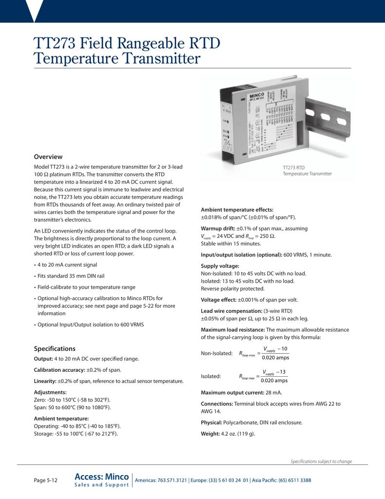 minco rtd wiring diagram ford 3000 tt273 field rangeable temperature transmitter 018818308 1 4d5b1b703ffcc77cfac9b84ea538dd69 png